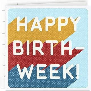 Hallmark Good Mail Birthday Card (Happy Birth-Week)