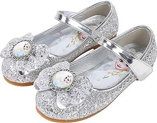YONIER Ballerine da Bambine e Ragazze Ballerine Bambina Pelle Scarpe Singole Festa Danza Lustrino Scarpe Principessa Elega...