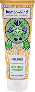 Human+Kind Body Souffle - Lightly Whipped Cream Moisturizer is Quickly Absorbed - Great for Dry or Eczema-Prone Skin - Nat...