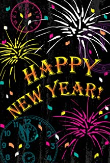 Best happy new year mini garden flag Reviews