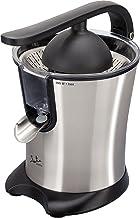 Jata Exprimidor eléctrico con brazo EX606 -  Cuerpo, filtro y vertedor de acero inoxidable, Motor AC, Extracción continua, Antigoteo, Desmontable,