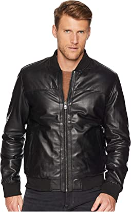 Leather Reversible Varsity Jacket