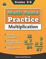 Math Facts Practice: Multiplication - Grades 3-5