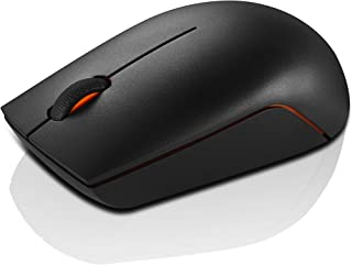 Lenovo 700 无线激光鼠标,黑色,1600 DPI,2.4 GHz 无线通过 USBGX30K79402 300 Wireless Compact Mouse