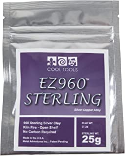Cool Tools - EZ960 Sterling Silver Clay - 25 gram
