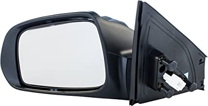 Driver Side Mirror for Scion tC (2005 2006 2007 2008 2009 2010) Unpainted Non-Heated Non-Folding Power Operated Left Outside Rear View Replacement Door Mirror with Turn Signal Lamp - SC1320102