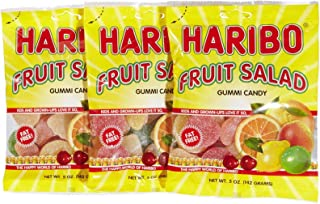 Haribo Gummi Fruit Salad 5 oz. - 3 packs