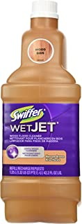 Swiffer Wetjet Wood Solution Wood 1.25 L/1.32 US QT/PTE E.-U/42.2 FL OZ, Blossom Breeze Scent