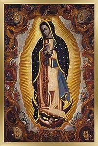 Trends International La Virgen De Guadalupe Wall Poster, 22.375