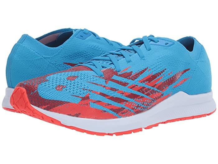 New Balance  1500v6 (Vision Blue/Neo Flame) Mens Running Shoes
