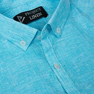 Turquoise Mist Linen Shirt