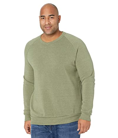 Alternative Champ Eco Fleece Sweatshirt (Eco True Army Green) Men