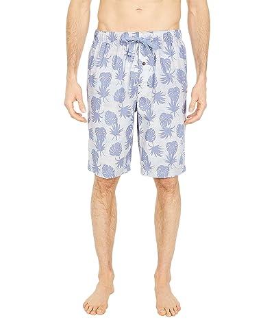 Tommy Bahama Woven Jam Shorts (Stripe Leaves) Men