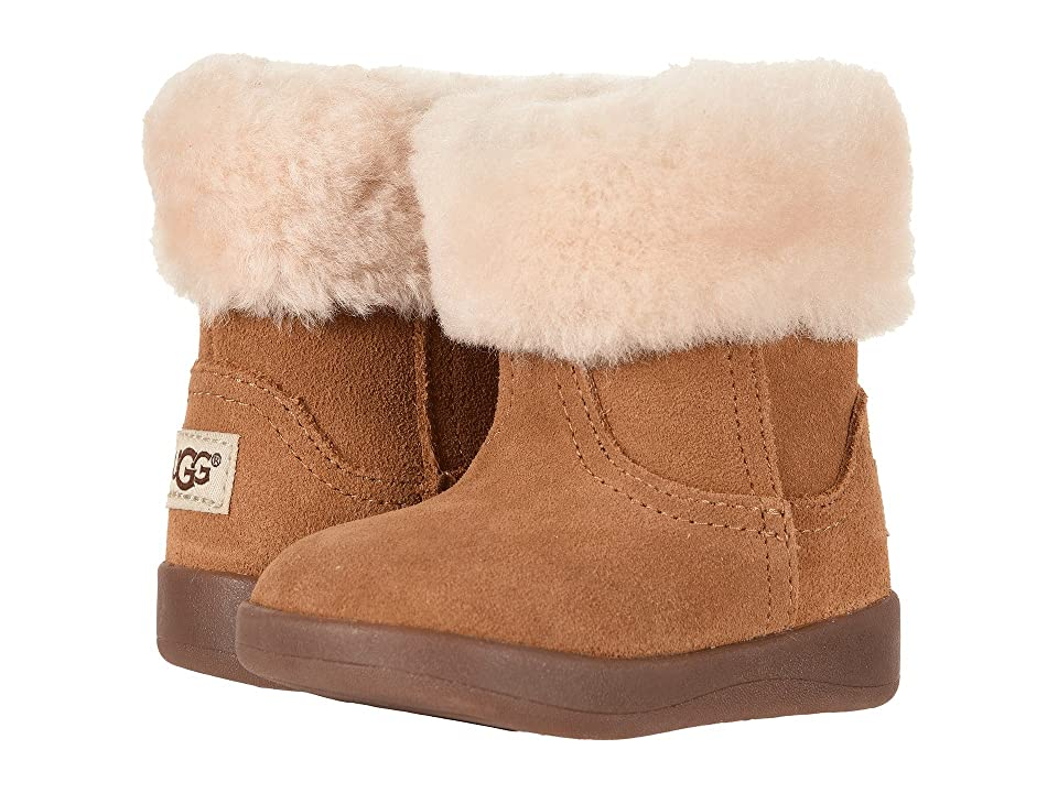 UGG Kids Jorie II (Infant/Toddler) (Chestnut) Girls Shoes