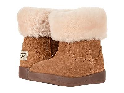 UGG Kids Jorie II (Infant/Toddler) (Chestnut) Girls Shoes