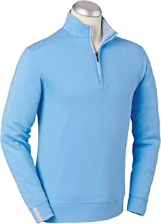 Lux Pima Leaderboard Golf Pullover – Men's 1/4 Zip...