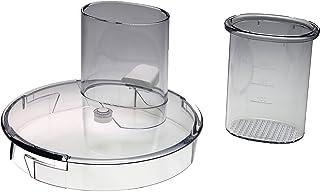 Couvercle CP9822,996510057047 compatible avec/pièce de rechange pour robot culinaire Philips HR7627, HR7628