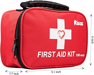 First aid kit,All-Purpose aid kit and Compact Emergency kit First aid for Office,aid Kit Medical for Outdoors,Hiking First aid kit and Camping Emergency kit