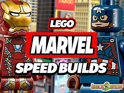 Clip: Lego Marvel Speed Builds