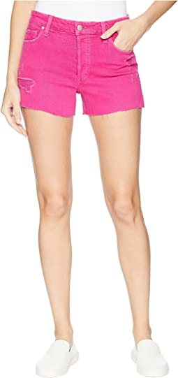 High-Rise Smith Shorts in Hot Pink