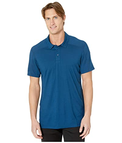 Smartwool Merino Sport 150 Polo (Alpine Blue) Men