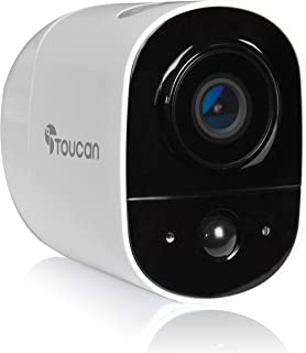Sponsored Ad – Security Camera Outdoor Wireless by Toucan, Wi-Fi, 1080P, Night Vision Motion Detection 2-Way Audio, Weathe...