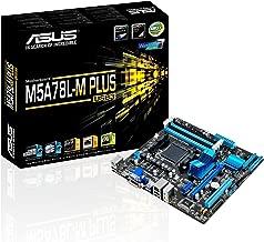 ASUS M5A78L-M Plus/USB3 DDR3 HDMI DVI USB 3.0 760G MicroATX Motherboard (Renewed)