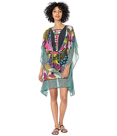 Bleu Rod Beattie Jungle Book Caftan Cover-Up (Multicolored) Women