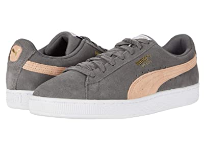PUMA Suede Classic (Castlerock/Pink Sand) Shoes
