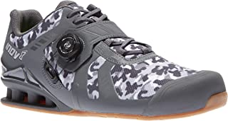 Inov-8 Lifting Mens Fastlift 400 BOA - Powerlifting Shoes for Heavy Weightlifting - Squat Shoe - Camo Edition - Wide Toe Box