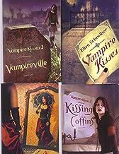 4 Book Set Vampire Kisses by Ellen Schreiber ~Vampire Kisses/Kissing Coffins/Vampireville/Dance With a Vampire