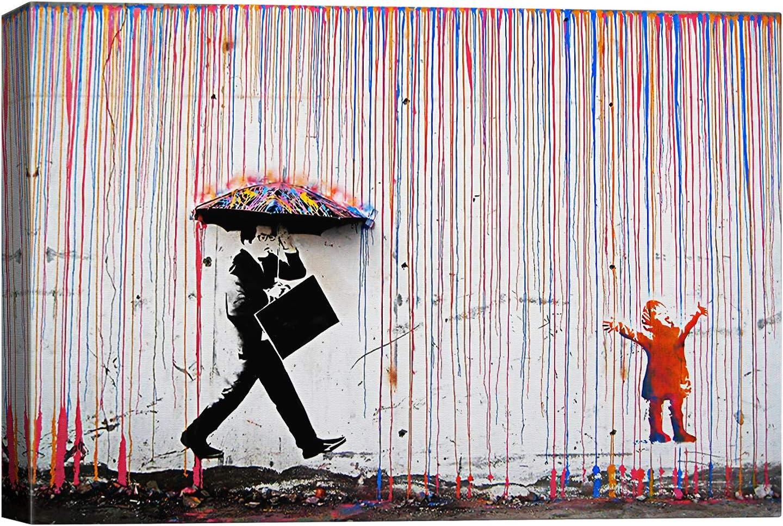 SIGNWIN Canvas Wall Art online shopping Banksy Home Superlatite Prints Decora Artwork