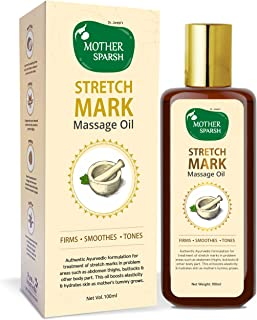 Mother Sparsh Natural Stretch Oil 14 Herbal Oils, 100 ml