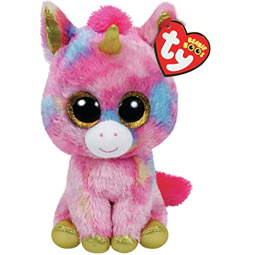 a9cf17fa376 Ty Beanie Boo Plush - Fantasia The Unicorn 15cm