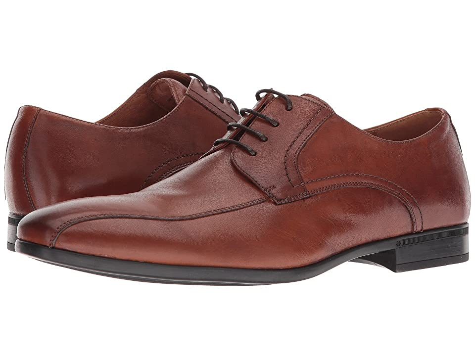 Florsheim Burbank Bike Toe Oxford (Cognac Milled) Men