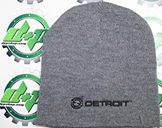 Diesel Power Plus Detroit truckcs Beanie Stocking Cap hat Trucker semi Toboggan ski cat Snow Winter Gear