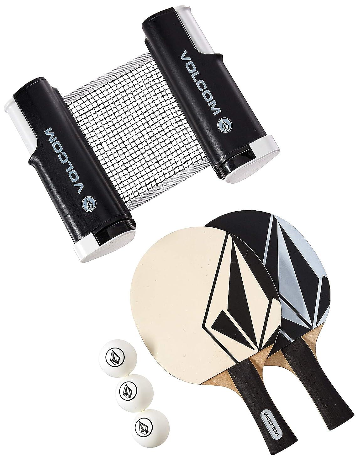 変化するつまずく迷惑[ボルコム] 卓球セット (ボール ラケット ネット セット) [ D6741800 / Stone Ping Pong Set ] アウトドア レジャー 簡易