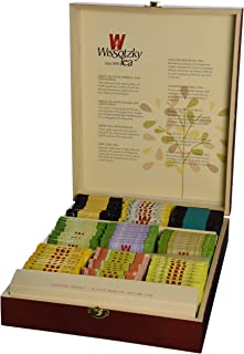Sponsored Ad - WISSOTZKY Mahogany Tea Chest (9 Flavors), 5.45-Ounce Boxes,10 Count (Pack of 9)