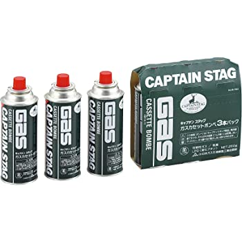 キャプテンスタッグ(CAPTAIN STAG) ガスカセットボンベ3本パック M-7621