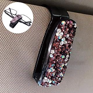 LENASH سيارة متنوعة Tech الماس النظارات كليب حامل (اللون: أرجواني)