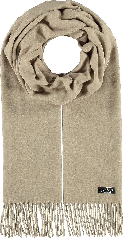 FRAAS Solid Color Cashmink Oversized Scarf for Men Women - Made in Germany