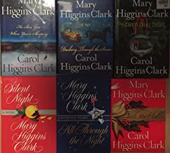 Mary Higgins Clark Christmas Mystery Novel Collection 6 Book Set