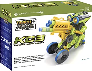 Teach Tech KC3 Keypad Coding Robot for Kids Ages 8 and Up