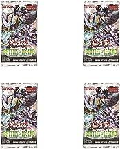 4X Booster Packs Yu-Gi-Oh! TCG: Battles of Legend - Hero`s Revenge