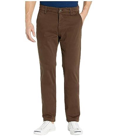 Mavi Jeans Edward Twill Regular Rise Slim Straight Leg in Coffee Bean Twill (Coffee Bean Twill) Men