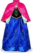 OwlFay Ragazze Principessa Abiti Carnevale Vestito da Festa Partito Cosplay Natale Halloween Fancy Dress Up Costume 2-10 Anni