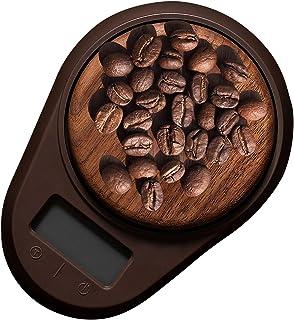 BiNGWA 軽量木製高精度電子キッチンスケール、クッキングスケール、ティースケール、0.1g単位 電子はかり お茶スケール コーヒー用スケール
