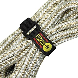 Super-Stretch Wrap-It Storage Straps (Assorted 8 Pack) - Elastic Hook and Loop Cinch Straps - Extension Cord Organizer, Ho...