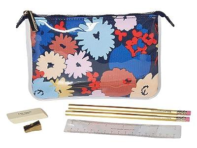 Kate Spade New York Pencil Pouch (Swing Flora) Wallet