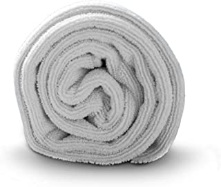 Luxe Beauty Essentials Microfiber Hair Towel for Drying Curly, Long & Thick Hair- Large 20 x 40 Grey